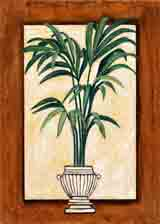 century palm botanical art and plant life gifts, paintings of flowers and botanical prints by artists Jane Billman and Gregg Billman