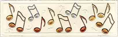 notes, music art and musical instruments art, music gifts and musical instruments gifts, music prints and musical instruments prints, music paintings and musical instruments paintings by artists Jane Billman and Gregg Billman